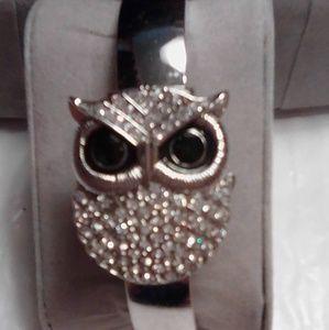 Jewelry - Owl clutch watch